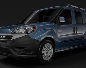 3D Ram ProMaster City Wagon 2019