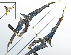 Classic Hanzo bow 3d printing files cosplay