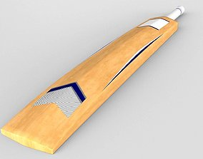 tools Cricket Bat 3D Model