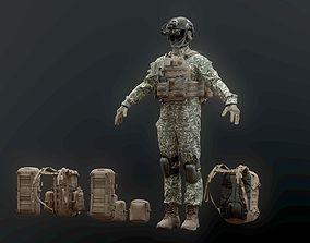 SOLDIER complete Pack 3D model