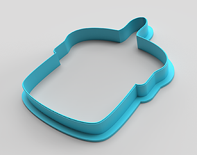 3D printable model Cookie cutter - Easter cake 2