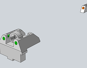 3D print model Tritium sights to G series WE GLOCK Airsoft