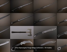 Post-Apocalyptic Forge Mega Collection 3D model