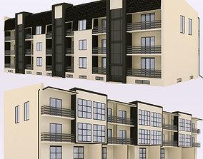 modern Townhouse 2 3D model