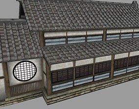 3D asset Japanese Dojo