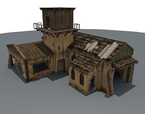 Ruined House 1 3D model