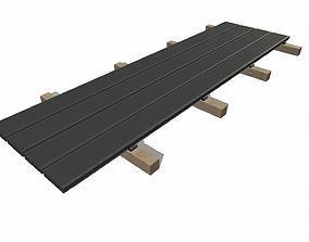 3D Decking board attachment point