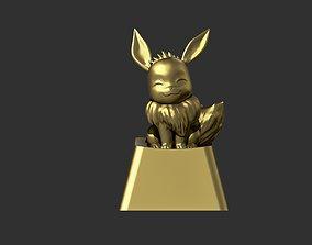 3D printable model Custom Artisan Keycap Evee Pokemon