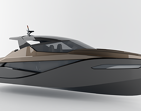 Speed Boat 12 meters 3D model