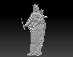 mother 3D model Mary and baby