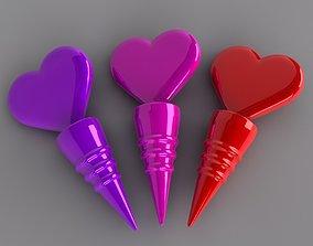 Heart Bottle Stopper 3D printable model