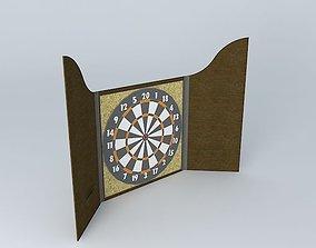 Dart Board 3D model
