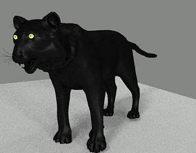 Print ready BLACK PANTHER 3D model