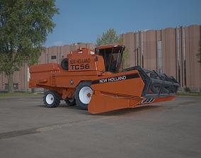 New Holland TC59 Harvester 3D model