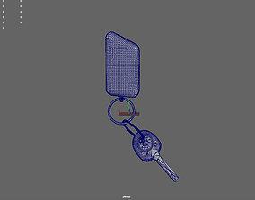 Car alarm RC 3D printable model
