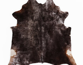 Cowhide Leather Rug 3D model