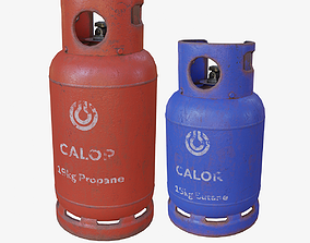 Gas Canisters 3D model