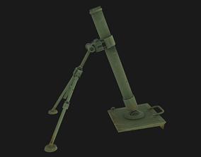 3D asset PBR Mortar