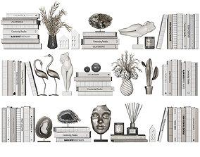 3D Shelf Decor set 3