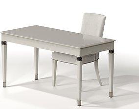 BEDROOM VANITY and VANITY CHAIR Home Office 3D model