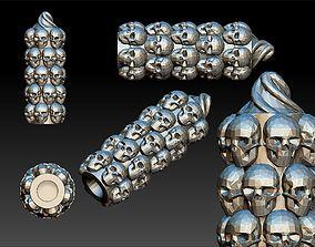 3D printable model Skull Foot Pegs Harley Davidson