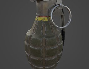 Grenade MK2 - Game Ready 3D model