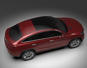 Mercedes Benz GLE Coupe 2016 3D model