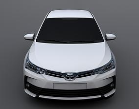 3D model Toyota Corolla 2018