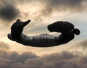 3D model Alien Juggernaut