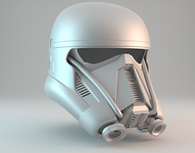 3D printable model Death Trooper helmet V2 - Free for 3