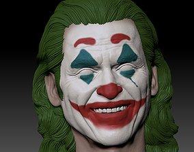3D printable model Joker 2019 Smile head Joaquin Phoenix