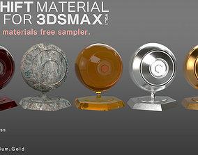 REDSHIFT MATERIAL PACK FOR 3DSMAX SAMPLER