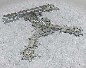3D asset EDDF Terminal 1B