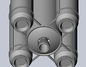 Ariane 6 Rocket - Detail Printable Scale Model