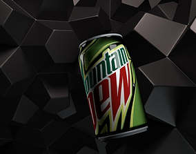 3D model Mountain Dew