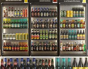 3D Alcoholic Set Storefront