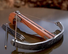 Game Ready Crossbow D180227 3D model