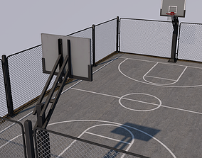 3D model stadiums Basketball Stadium