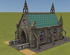 Mittelalterliche Kapelle - Medieval Church 3D model