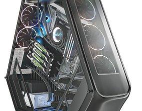 Modern PC 3D model