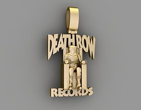 3D printable model Pendants Death row records - KING ICE