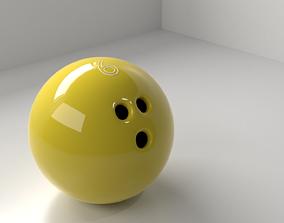 Bowling Ball 6 P 3D
