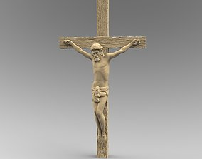 Catholic Cross Jesus 3D printable model