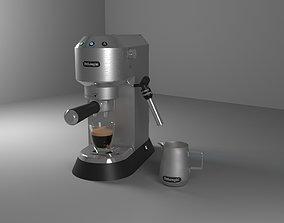 3D model DeLonghi Dedica Style EC 685 coffemashine