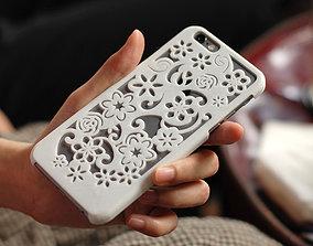 Flora Iphone 6 Case 3D printable model