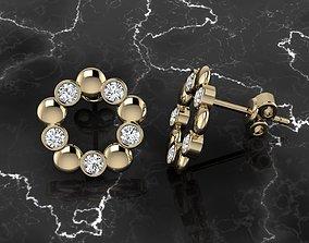 jewelry 3D printable model Jewelry Earring