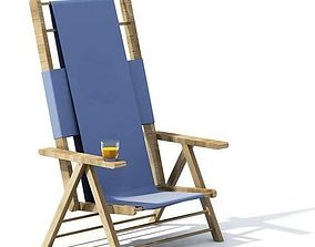 3D model Beach Chair chair