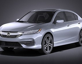 Honda Accord 2017 VRAY 3D lx