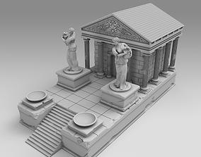 3D printable model Rich Ancient Greek temple ancientgreece