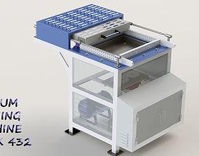 3D model Vaccum Forming Machine